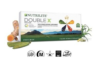 Amway Nutrilite Double X Vitamin Mineral Phytonutrient Supplement-31 Days Refill