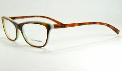 Tiffany & Co Women's Eyeglasses TF 2078 8164 LIGHT HAVANA Frame 55 mm
