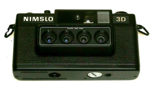 NIMSLO 3D--35MM CAMERA--TESTED--WORKING GREAT!