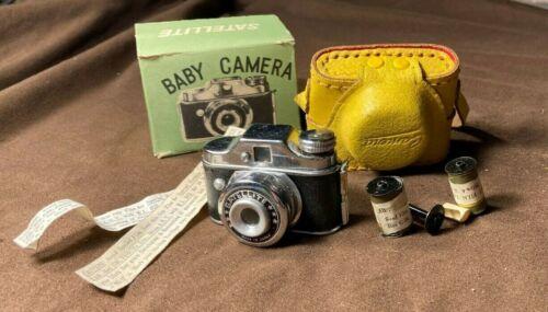 Vintage Antique Satellite Miniature/ Spy Camera