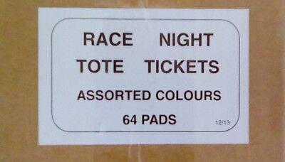 Race Night Tickets - full set 6400 tickets