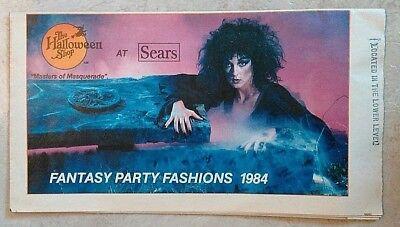 SEARS Halloween Catalog 1984 Be Something Studio Don Post Cesar MASKS Last One!](Halloween Mask Catalog)
