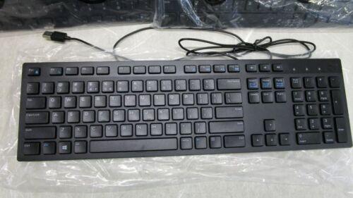New Dell KB216-BK-US Wired Black Keyboard