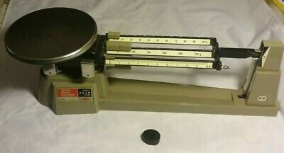 Ohaus 610 Gm Triple Beam Scale Missing External Hanging Weights
