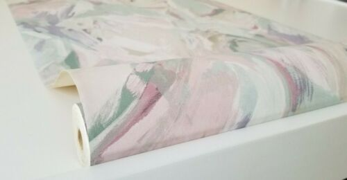 Multi Color Brushed Painting Wallpaper by International Wallcoverings