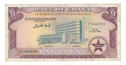 Ghana - One (1) Pound, 1961