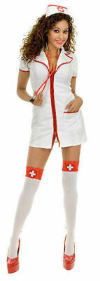 02098 Bedside Betty Nurse Womans Costume by Charades SZ XS