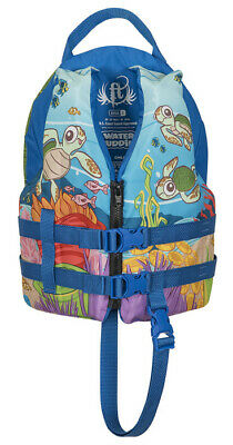 Full Throttle Water Buddies Child TURTLE Life Jacket Type III, 30-50 LBS USCG (Throttle Jacket)