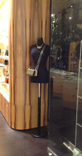 Black Mannequin with wooden pole (x4 available) Abbotsford Yarra Area Preview
