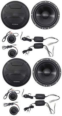 "2-Pairs Hifonics ZS65C 6.5"" 400 Watt Component Car Audio Spe"