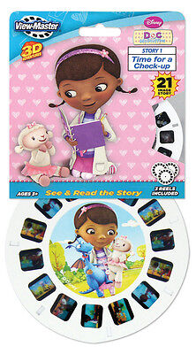 Doc McStuffins VIEW-MASTER VIEWMASTER 3 Reel Set 21 images 2111