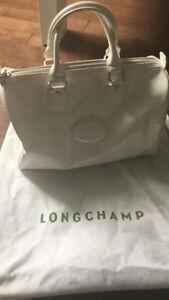 Sac Longchamp Blanc ( authentique)