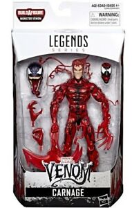 Marvel Legends Venom Wave 1 - Monster Venom BAF Series - Carnage Action Figure