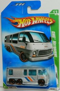 Hot Wheels 1/64 GMC Motorhome Treasure Hunt Diecast Car