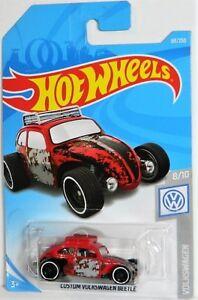 Hot Wheels 1/64 Custom Volkswagen Beetle Diecast Car
