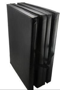 Folding 4-Panel Gymnastic Exercising Mat Yoga Mat 2 Size Option 190090