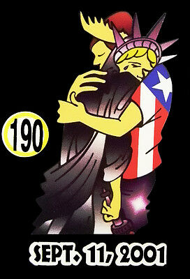 Liberty Puerto Rico - PUERTO RICO CAR DECAL STICKER STATUE OF LIBERTY with PUERTO RICAN  #190