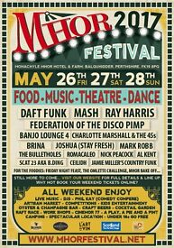 1 x MHOR Weekend Festival & Camping Ticket