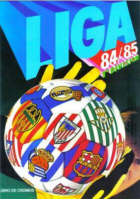 FACSIMIL STICKER ALBUM CROMOS FUTBOL LIGA ESTE 84 85 1984 1985 COMPLETO