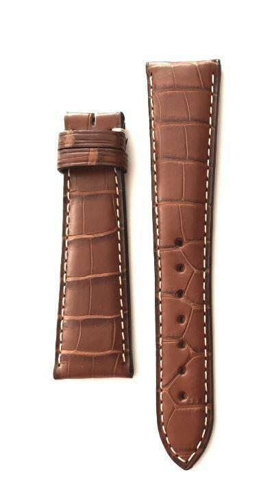 Original Zenith Krokodil Uhrenarmband 21 mm