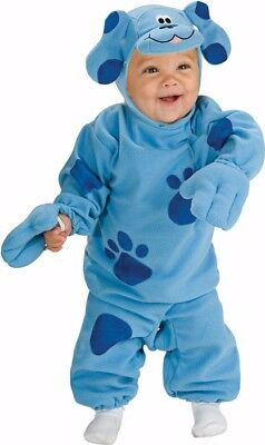 Blue Clues Costume (Blue's Clues Puppy Dog Nick Jr DLX Infant Child)
