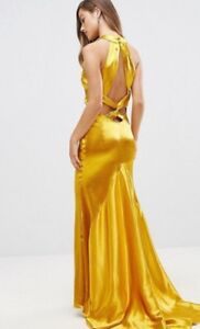 Gold Formal Evening Gown/ Dress New with Tags Size 4US