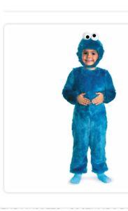 Costume d'halloween Cookie Monster