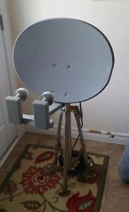 Brand new portable satellite, great for tailgating/camping