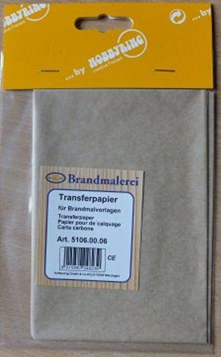 Brandmalerei ++++ Transferpapier