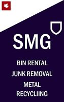 Bin Rental-Dumpster Rental-Junk Removal-Clean Fill (Small Load)