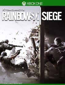 Rainbow 6 siege xbox one