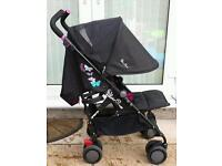 Silver cross pop butterfly pram limited edition buggy