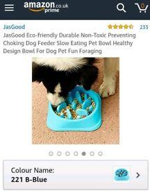 BNIB Slow feeder dog bowl