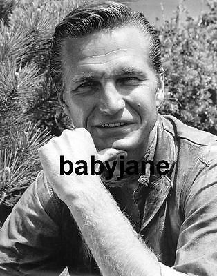 006 ERIC FLEMING RAWHIDE STAR HANDSOME PORTRAIT PHOTO
