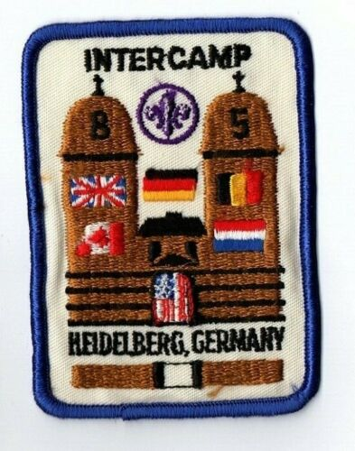 Boy Scout Transatlantic Council Hiedelberg, Germany Intercamp 1985