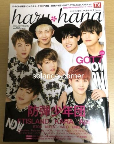[RARE] BTS Japan Magazine 2015 Issue Compare Yours with BTS Real Size Palms Hand