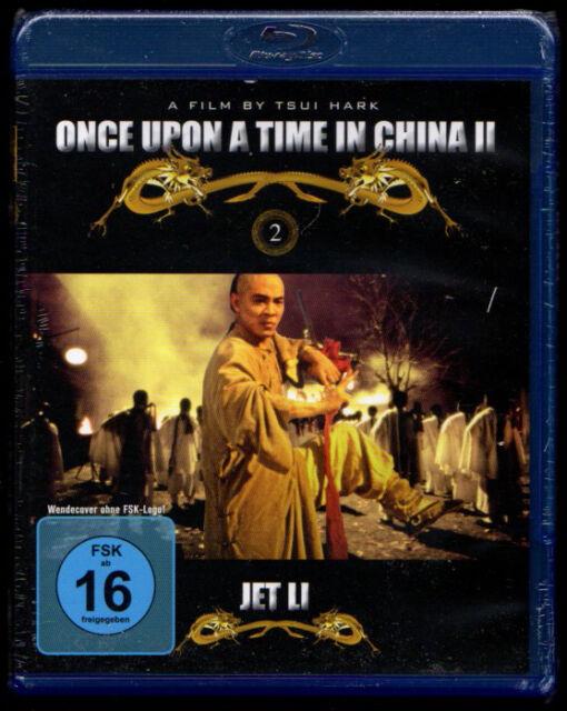 ONCE UPON A TIME IN CHINA II JET LI BLUE-RAY NEU VERSCHWEISST