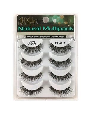 Ardell NATURAL MULTIPACK DEMI WISPIES False Eyelashes Fake Lashes 61494 4 pairs - Fake Eyelashes