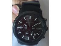 Michael Kors chronograph silicone strap watch £45