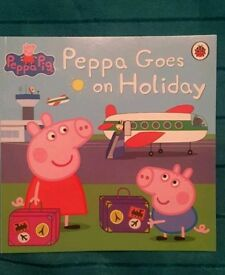Brand new Peppa Pig goes on holiday book
