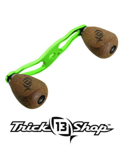 13 Fishing Trick Shop Lime Handle With Cork Knobs For Concept Reels TS4-13 New