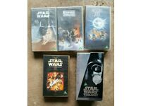 Stars Wars VHS for collector