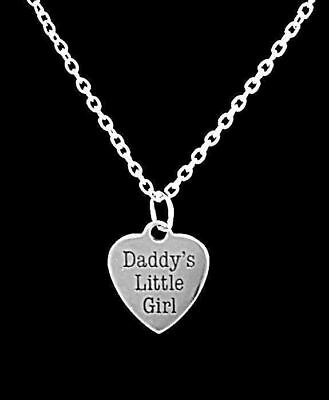 Daddy's Little Girl Necklace Heart Christmas Gift Daughter Gift For Her](Necklaces For Little Girls)