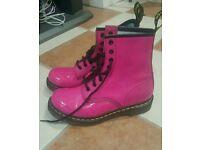 Pink Doc Martens Size 5