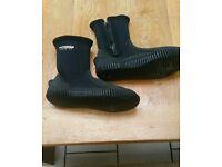 Typhoon wet suit boots