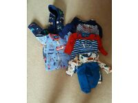 Boys Joules clothing bundle 6-9 and 9-12 months