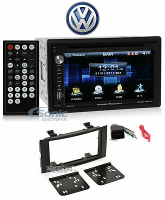 "In-Dash 6.5"" DVD/CD Player Receiver Monitor w/ Bluetooth For 04-10 VW Touareg (Dvd-player In Dash)"