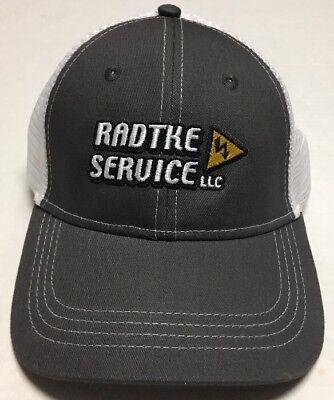 Radtke Service Hat North Dakota Cap Electrical Contractors ND Oilfield Oil Gas