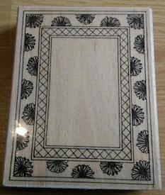 Brand new large border/frame craft stamp rrp £11.65