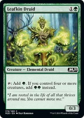 4 Thelonite Druid ~ Green Fallen Empires Mtg Magic Uncommon 4x x4